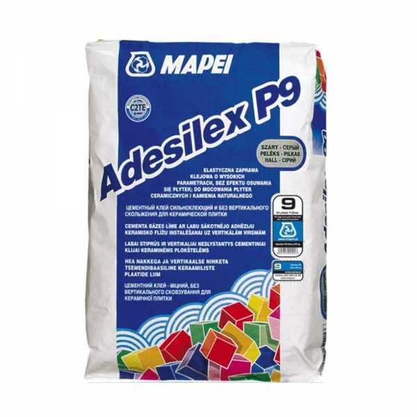 Mapei Adesilex P9 szürke ragasztóhabarcs 5 kg