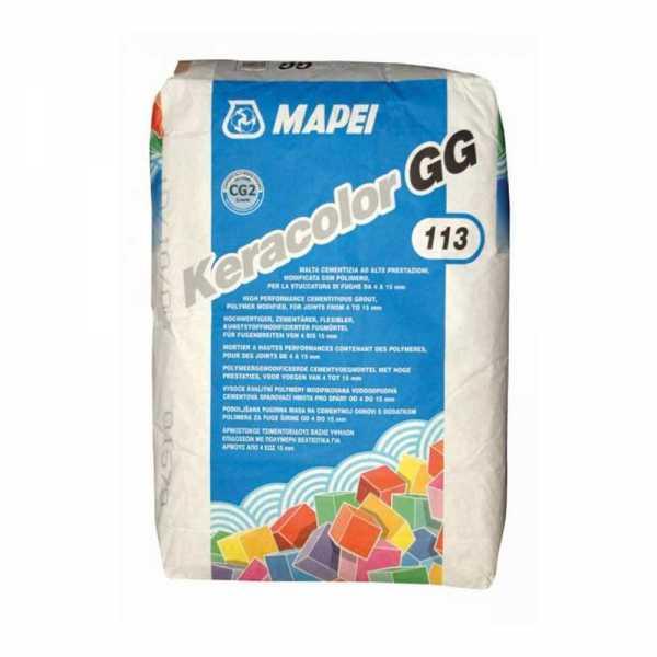 Mapei Keracolor GG fugázóhabarcs gesztenye 5 kg
