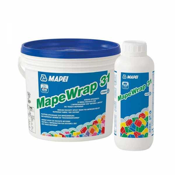Mapei Mapewrap 31 epoxigyanta - A+B komponens 5 kg