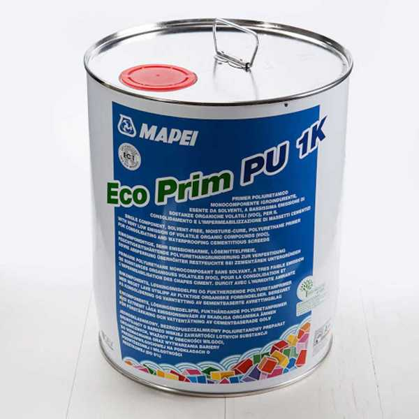 Mapei Eco Prim PU 1K párazáró alapozó 10 kg
